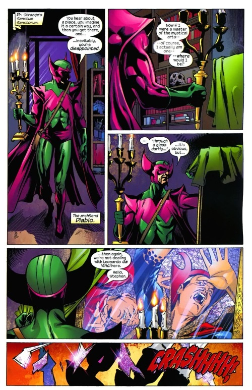 Mirror Manipulation-Dr. Strange-Marvel Knights 4 #27