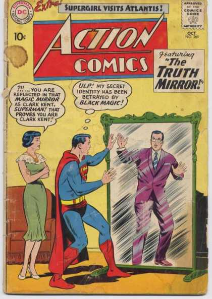 Mirror Manipulation-OS-Action Comics V1 #269