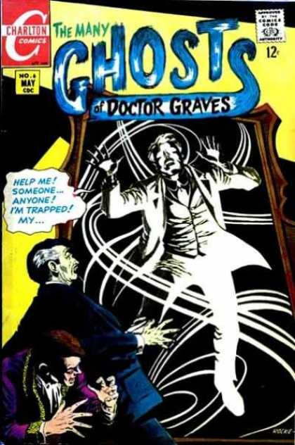 Mirror Manipulation-OS-The Many Ghosts of Doctor Graves #6 (Charlton)