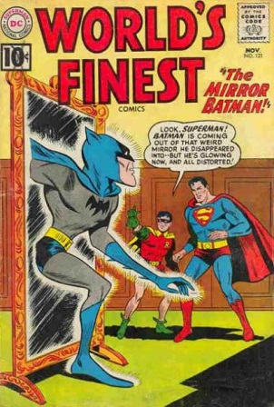 Mirror Mimicry-OS-Batman-World's Finest V1 #121