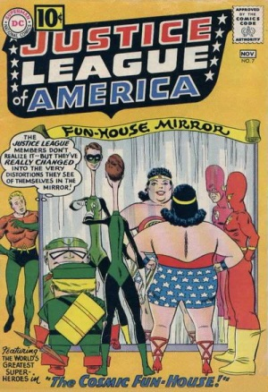 Mirror Mimicry-OS-Justice League of American V1 #7