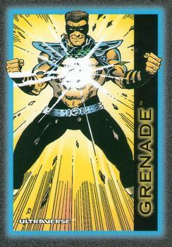 Molecular Combustion (self)-1993 SkyBox Ultraverse-15Fr Grenade