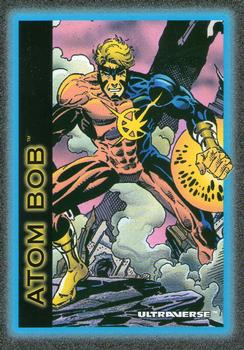 Molecular Manipulation (object)-1993 SkyBox Ultraverse-3Fr Atom Bob