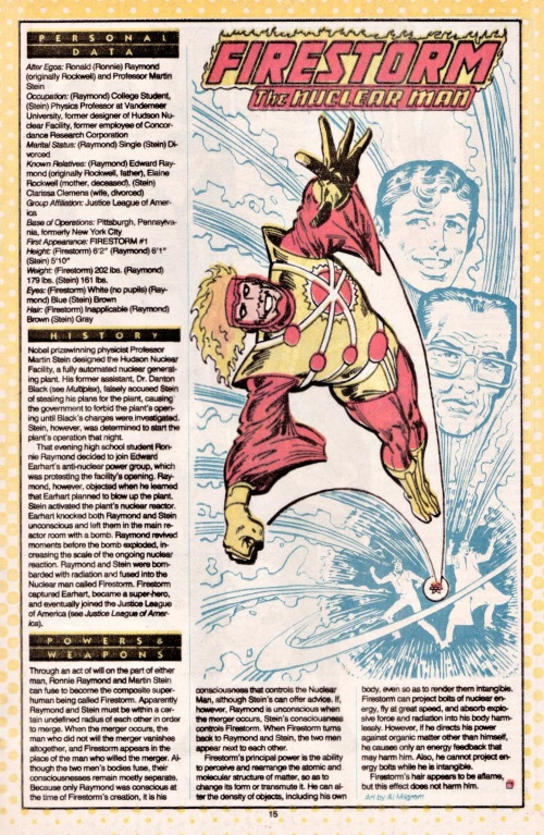 Molecular Manipulation (object)–Firestorm-DC Who's Who V1 #8