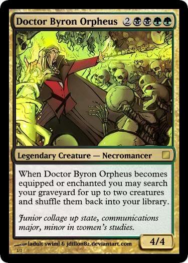 Necromancy (others)–Dr. Byron Orpheus - Venture Bros