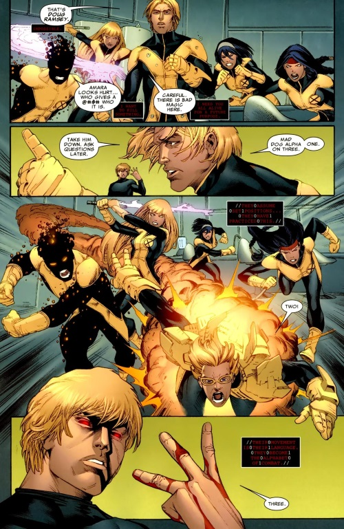Omnilingualism-Cypher-New Mutants #6-13