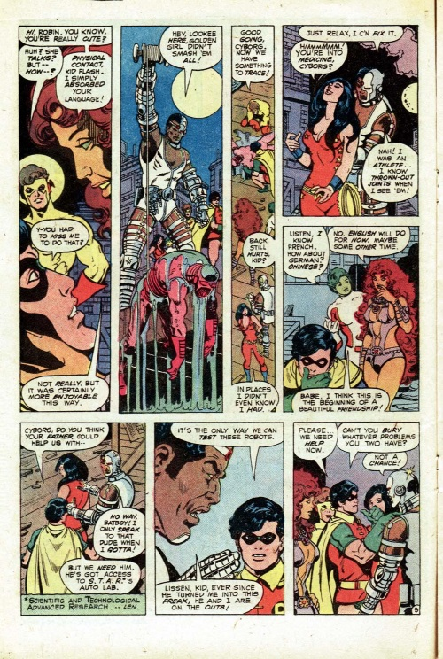Omnilingualism–Starfire-The New Teen Titans V1 #2-10