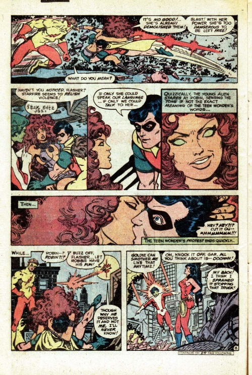 Omnilingualism–Starfire-The New Teen Titans V1 #2-9