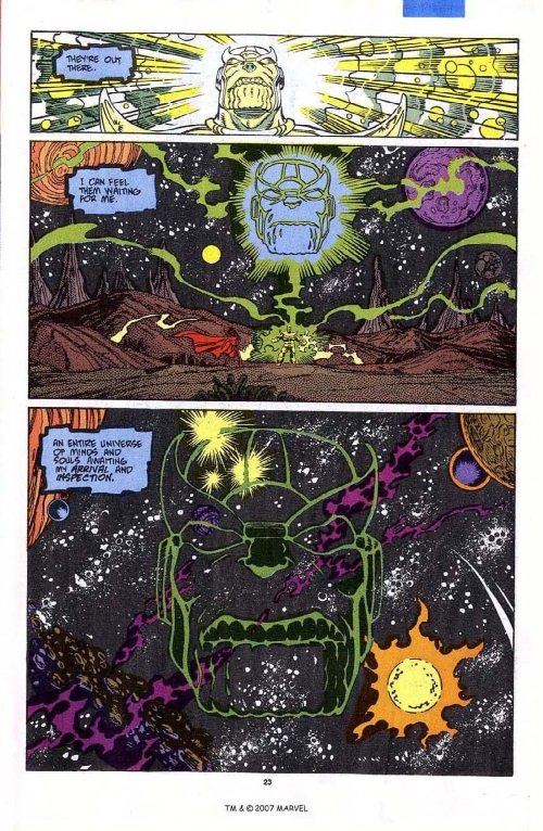 Omniscience-Thanos-Silver Surfer V3 #45-25