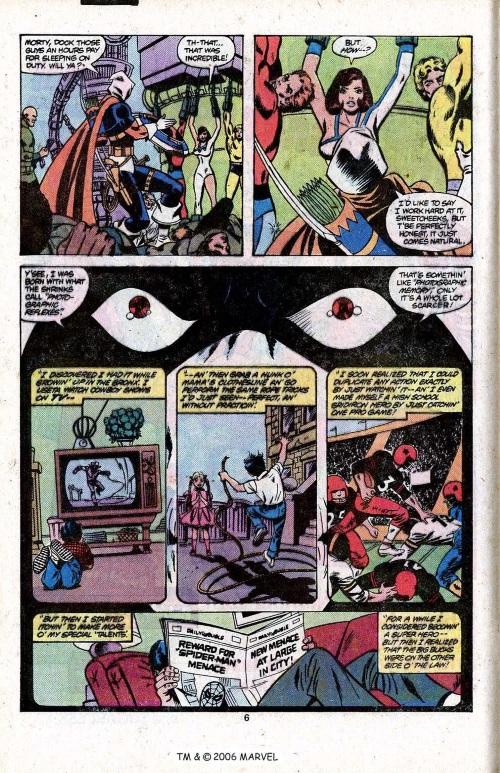 Photographic reflexes-Taskmaster-Avengers V1 #96