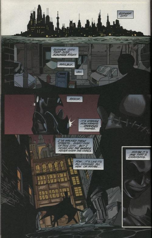 Photographic Reflexes–Cassandra Cain (DC)-Batgirl V1 #6 (2000)