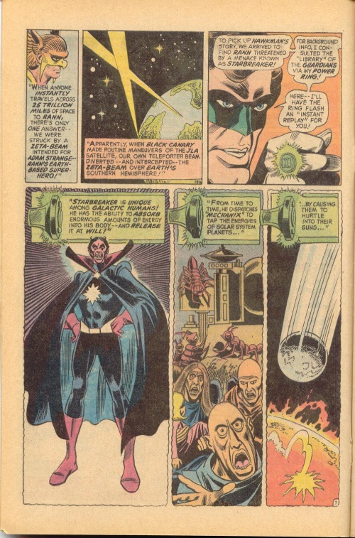 Planetary Absorption-Starbreaker-Justice League of America V1 #96-10