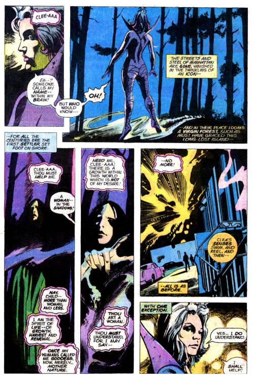 Planetary Manipulation-Gaea-Doctor Strange V1 #6
