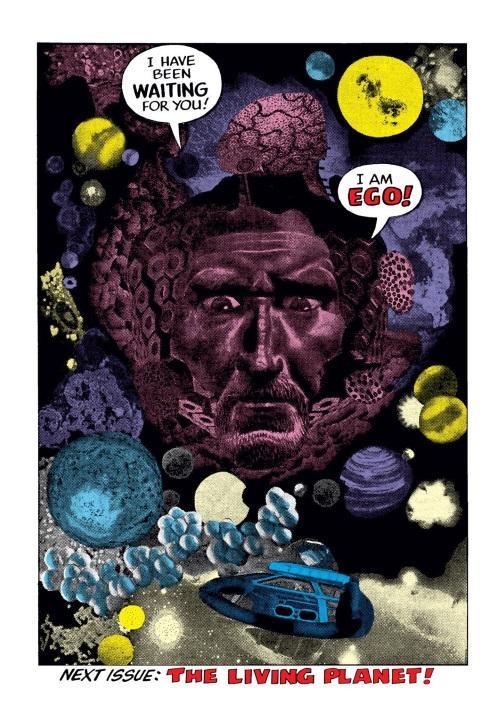 Planetary Mimicry-Ego-Thor #132 (1966)