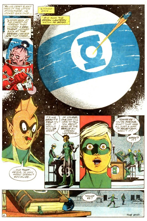 Planetary Mimicry-Mogo-Green Lantern V2 #188