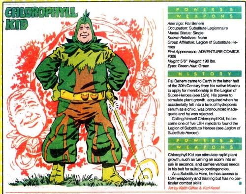 Plant Manipulation-Chlorophyll Kid-DC Who's Who V1 #4