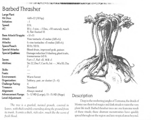 plant-mimicry-barbed-thrasher-creature-collection-iii-savage-bestiary