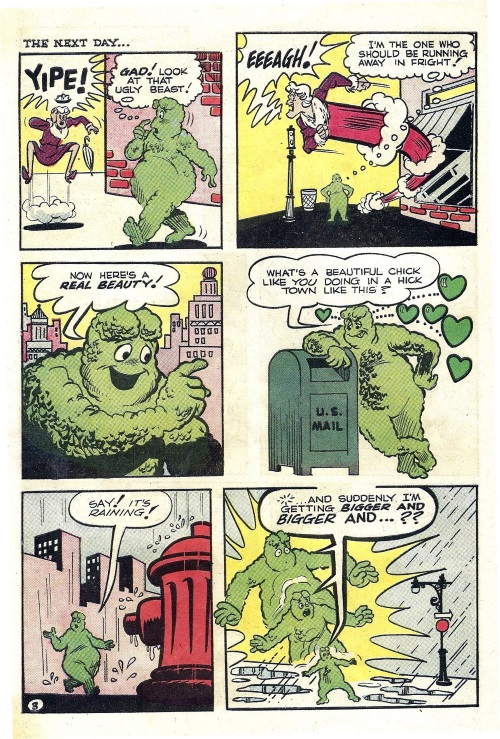 plant-mimicry-crabgrass-monster-archies-madhouse-37-1964-14