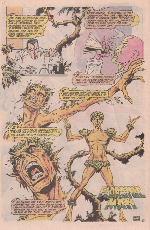 Plant Mimicry – Floronic Man-Secret Origins #23