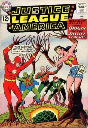 Plant Mimicry-Justice League of America V1 #9