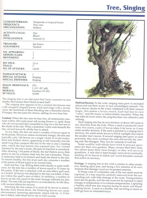 plant-mimicry-singing-tree-tsr-2145-monstrous-compendium-annual-volume-1