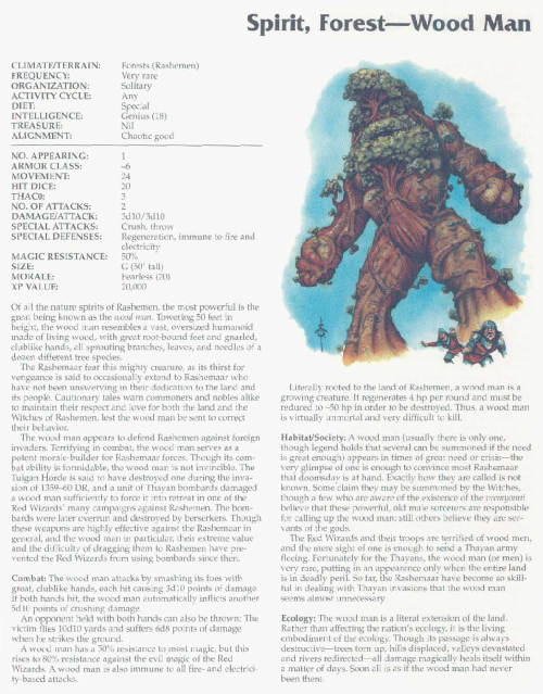 plant-mimicry-wood-man-tsr-2166-monstrous-compendium-annual-volume-3