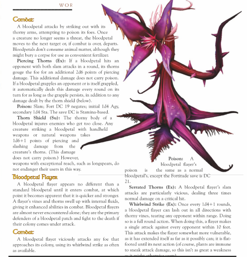 plant-mimicry-wow-bloodpetal-world-of-warcraft-monster-guide