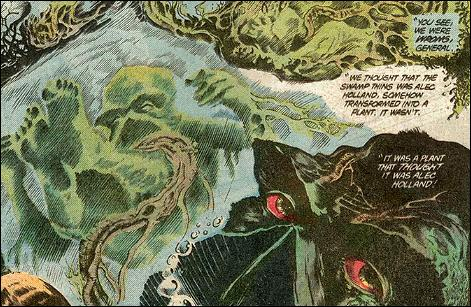 Plant Mimicry– Swamp Thing-The Saga of the Swamp Thing #21 (DC)