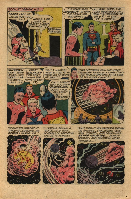 Plasma Absorption–Sun Eater-Adventure Comics V1#352