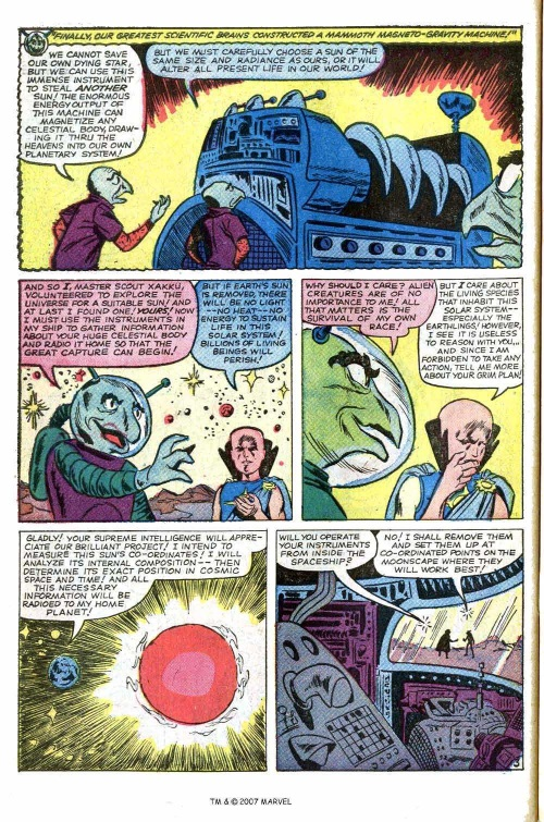 Plasma Absorption–Tales of the Watcher-Tales of Suspense V1 #55-30
