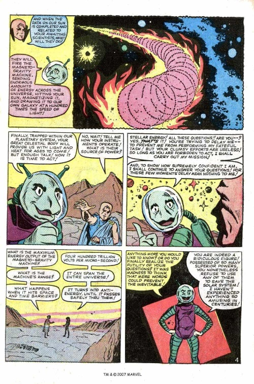 Plasma Absorption–Tales of the Watcher-Tales of Suspense V1 #55-31
