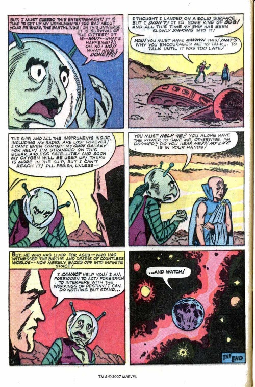 Plasma Absorption–Tales of the Watcher-Tales of Suspense V1 #55-32