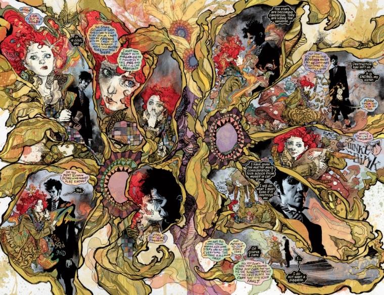 Plasma Mimicry–The Sandman-Overture #6 (of 6) (2015)