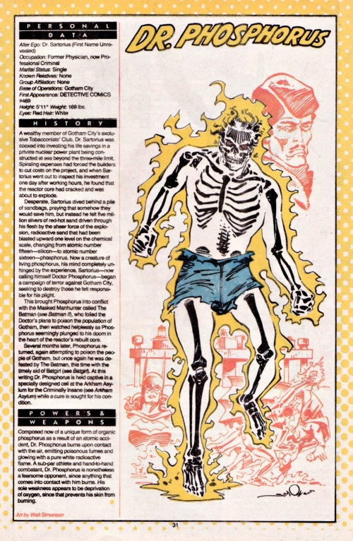 Poison Generation-Dr. Phosphorus-DC Who's Who #6