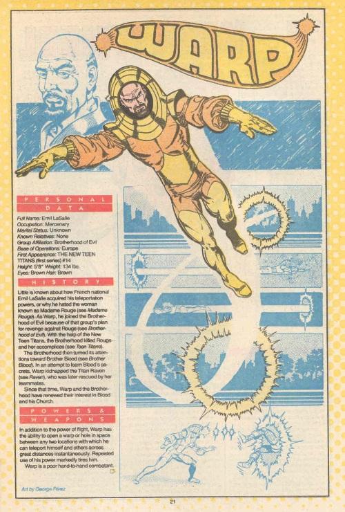Portal Creation-Warp-DC Who's Who V1 #25