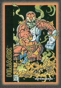 Possession-1993 SkyBox Ultraverse-61Fr Hijack