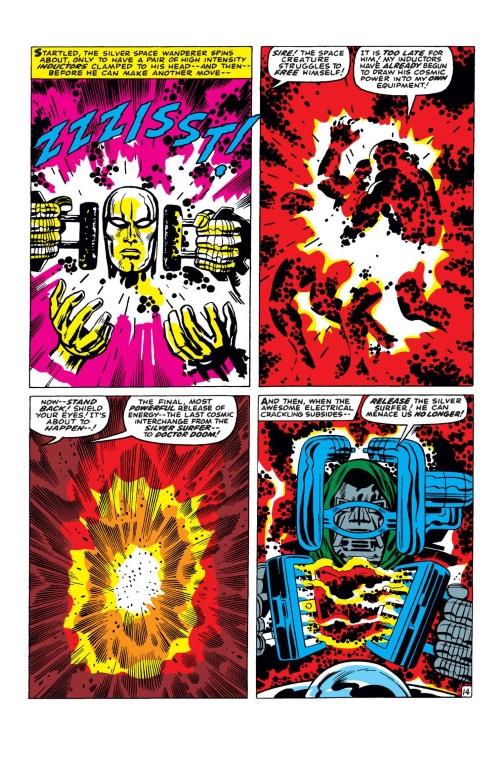 Power Absorption–Doctor Doom vs Silver Surfer-Fantastic Four V1 #57-15