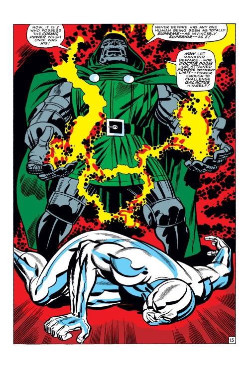 Power Absorption–Doctor Doom vs Silver Surfer-Fantastic Four V1 #57-16