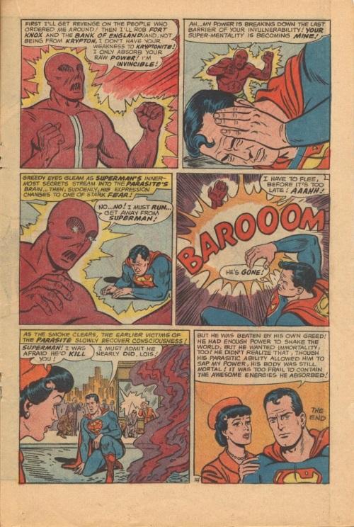 Power Absorption–Parasite vs Superman-Action Comics V1 #340-17