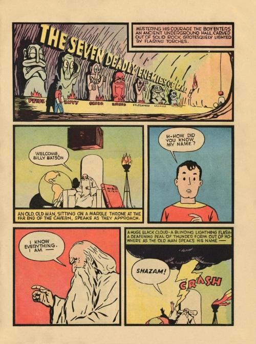 Power Bestowal (persons)-Captain Marvel - Whiz Comics #2 (1940)-5