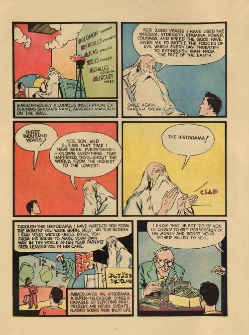 Power Bestowal (persons)-Captain Marvel - Whiz Comics #2 (1940)-6
