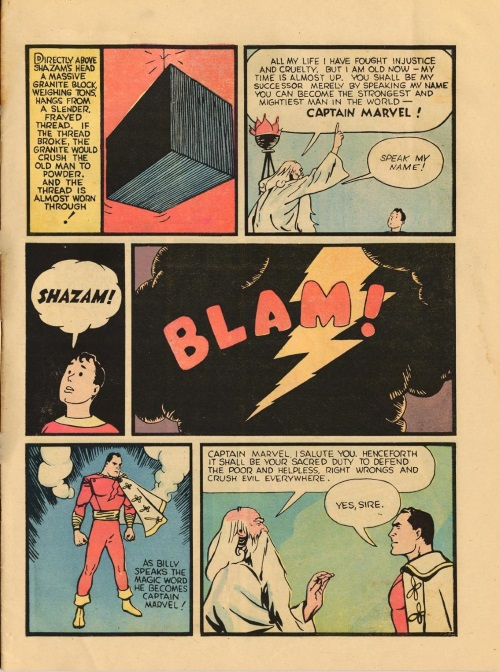 Power Bestowal (persons)-Captain Marvel - Whiz Comics #2 (1940)-7