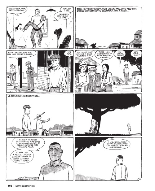 Power Bestowal (persons)-Gorgo-Love & Rockets-Human Diastrophism V5 (2007) - Page 166