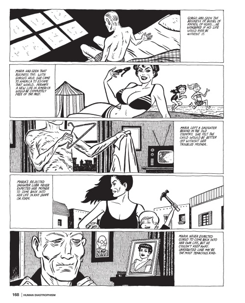 Power Bestowal (persons)-Gorgo-Love & Rockets-Human Diastrophism V5 (2007) - Page 168