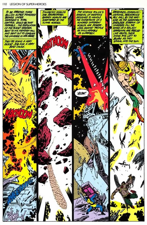 Power Bestowal (persons)-Legion of Superheroes-The Great Darkness Saga (1989)