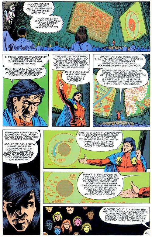Power Bestowal (persons)-Mon El-Annual Legion of Super-Heroes V4 #2 (1991)-43