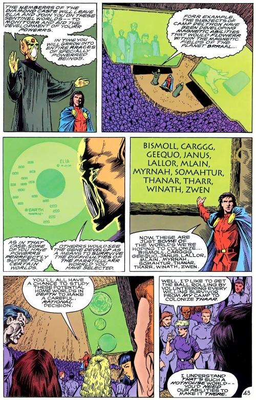 Power Bestowal (persons)-Mon El-Annual Legion of Super-Heroes V4 #2 (1991)-44