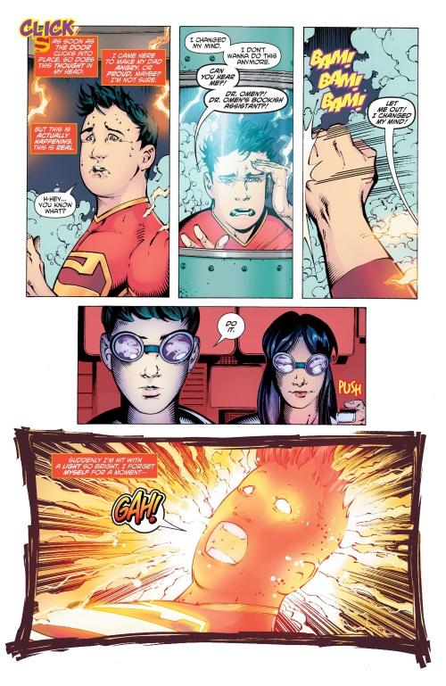 Power Bestowal (persons)-New Super-Man #1-18