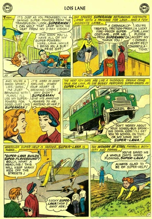 Power Bestowal (persons)-Superman Blood Tranfusion - Lois Lane 17