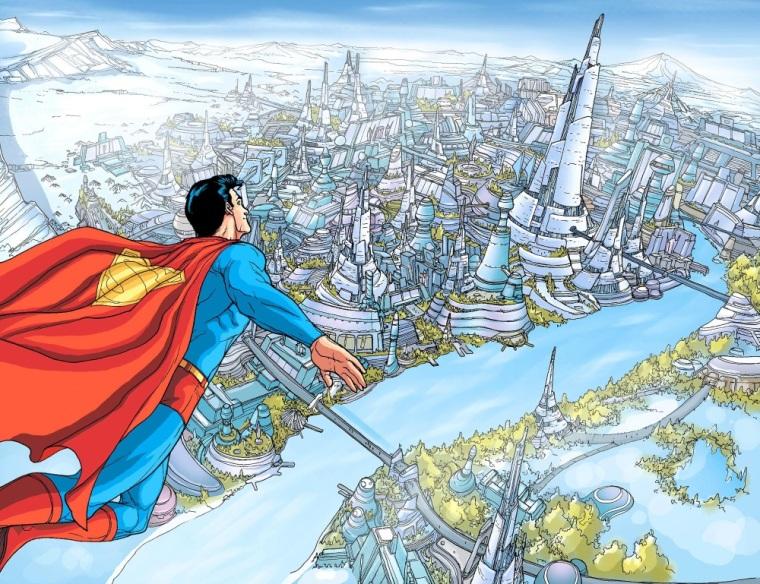 Power Bestowal (persons)-Superman - New Krypton TPB V1 (2009)